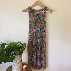 Lika Anthropologie soft colorful dress